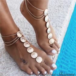 Fashione Shanone - Golden anklet