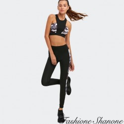Fashione Shanone - Military bra and pants sport set