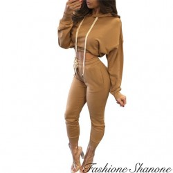 Fashione Shanone - Ensemble de jogging sweat et pantalon
