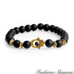 Fashione Shanone - Bracelet perles mattes main de Fatma
