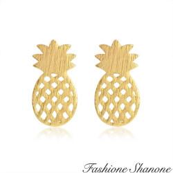 Fashione Shanone - Boucles d'oreilles ananas