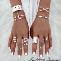Fashione Shanone - Boho ring set