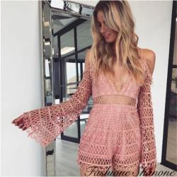 Fashione Shanone - Combinaison short crochet