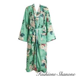 Fashione Shanone - Long kimono fleuri