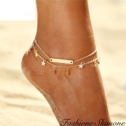 Double star anklet
