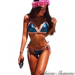 Fashione Shanone - Bikini triangle sequin