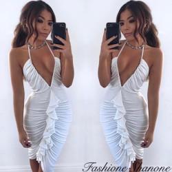 Fashione Shanone - Robe moulante décolletée