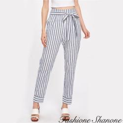 Fashione Shanone - Pantalon rayé