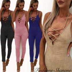 Fashione Shanone - Combinaison pantalon en suède