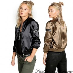Fashione Shanone - Bomber satiné