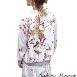 Fashione Shanone - Floral bomber