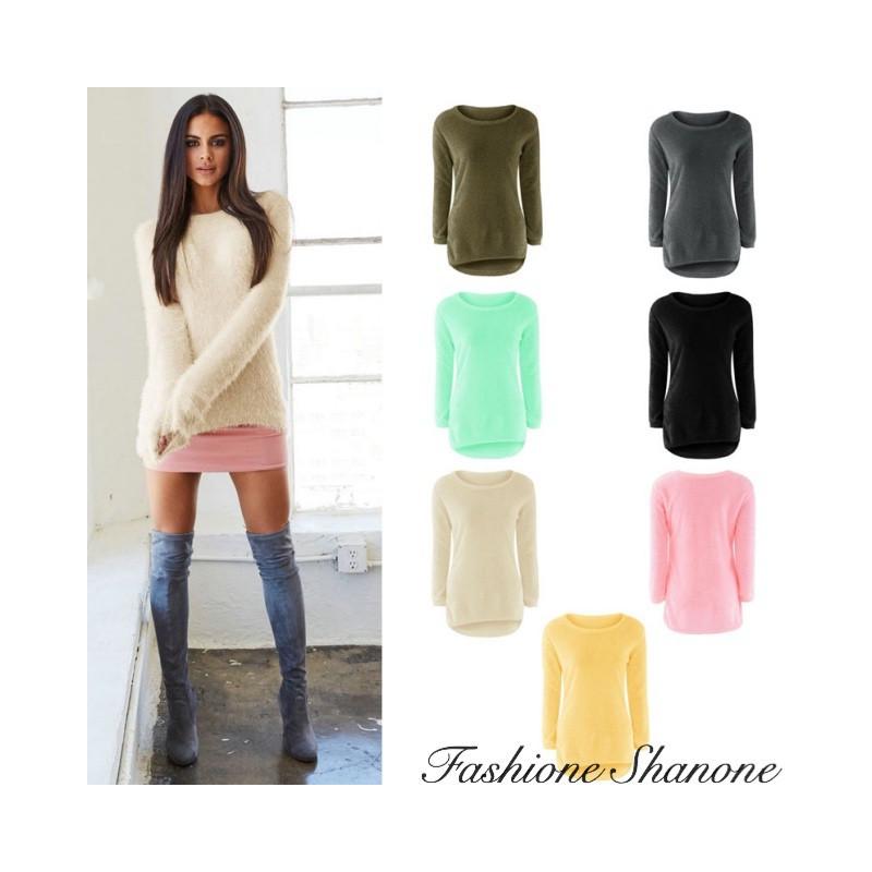 Fashione Shanone - Pull effet cachemire