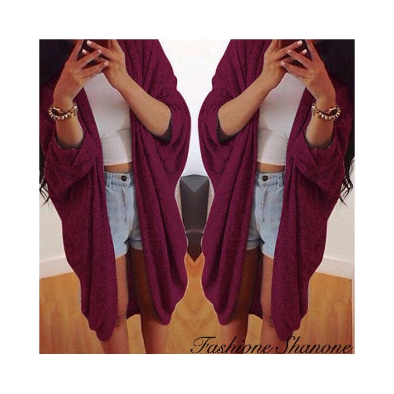 Fashione Shanone - Long cardigan