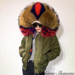 Fashione Shanone - Bomber with fur hood