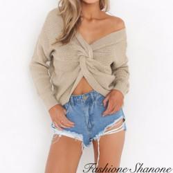 Fashione Shanone - Pull torsadé