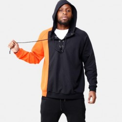 Fashione Shanone - Orange and black sweatshirt