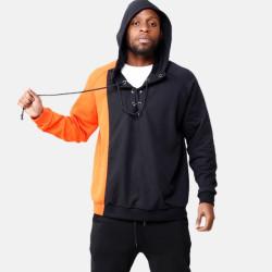 Fashione Shanone - Orange and black sweatshirt