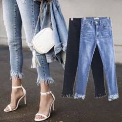 Fashione Shanone - Tassel jeans
