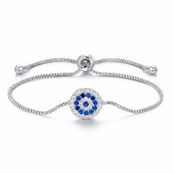 Bracelet rond en diamant