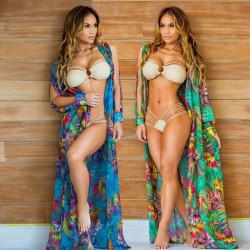 Fashione Shanone - Floral long kimono