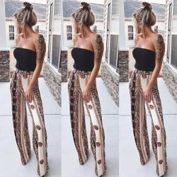 Fashione Shanone - Pantalon large taille haute