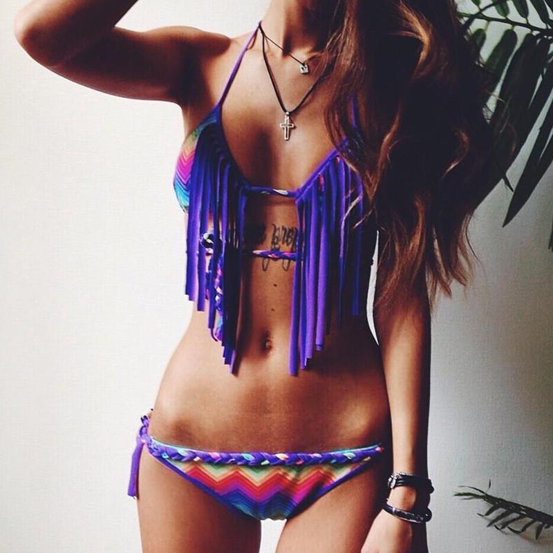 Fashione Shanone - Bikini à franges