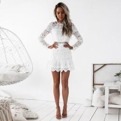 Fashione Shanone - Robe trapéze en dentelle