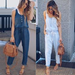 Fashione Shanone - Combinaison pantalon denim