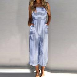Fashione Shanone - Stripped jumpsuit