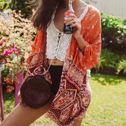 Fashione Shanone - Orange kimono