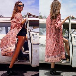 Fashione Shanone - Long kimono bohémien