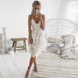 Fashione Shanone - Robe mi-longue en dentelle