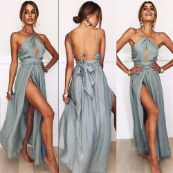 Fashione Shanone - Robe longue dos-nu