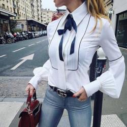 Fashione Shanone - Chemise avec noeud papillon