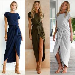 Fashione Shanone - Robe longue fendue