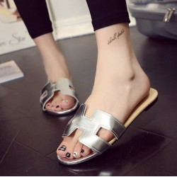 Fashione Shanone - Leather flat sandals