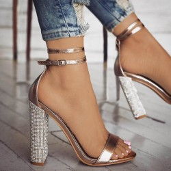 Fashione Shanone - Sandales à talons en diamant