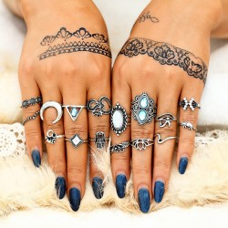 Fashione Shanone - Bohemian rings set