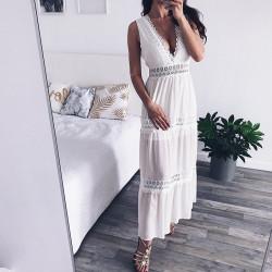 Fashione Shanone - Robe longue décolletée
