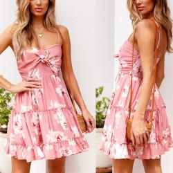 Fashione Shanone - Floral pink dress