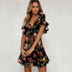 Fashione Shanone - Robe évasée fleurie