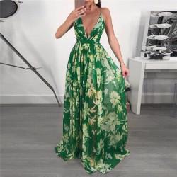 Fashione Shanone - Robe longue verte