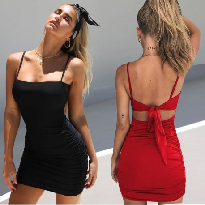 Fashione Shanone - Robe ouverte au dos