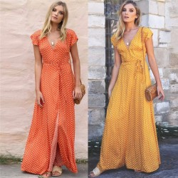 Fashione Shanone - Robe longue à pois