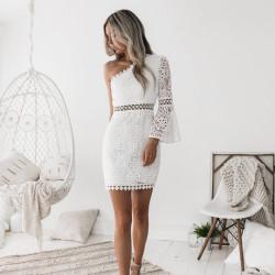 Fashione Shanone - Robe asymétrique en dentelle