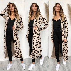 Fashione Shanone - Long gilet léopard