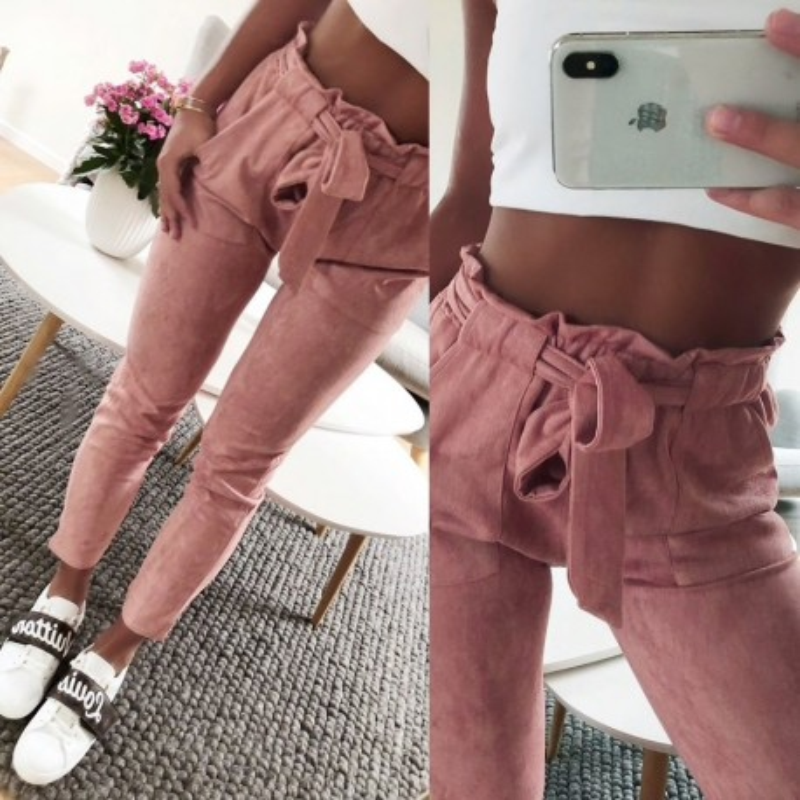 Fashione Shanone - Pantalon en daim