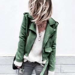 Fashione Shanone - Veste perfecto en daim