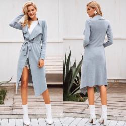Fashione Shanone - Long jacket with belt