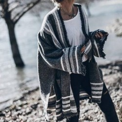 Fashione Shanone - Poncho cardigan